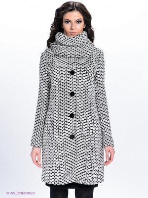 Пальто QUIOSQUE. Цвет: черный, белый