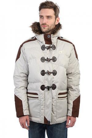 Куртка зимняя  Between Grey Picture Organic. Цвет: серый