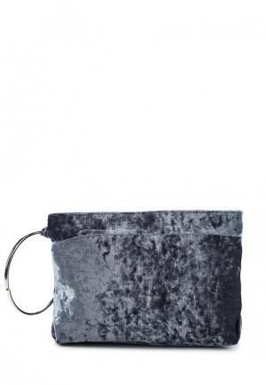 Клатч Zarina. Цвет: серый