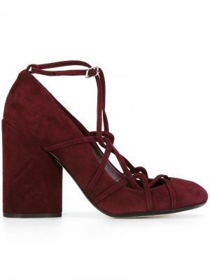 Туфли Carrie Marc Jacobs. Цвет: красный