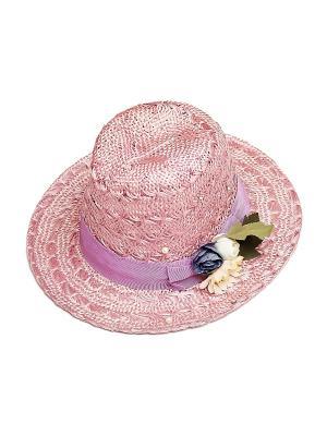 Шляпа Kameo-bis. Цвет: розовый, зеленый, бежевый
