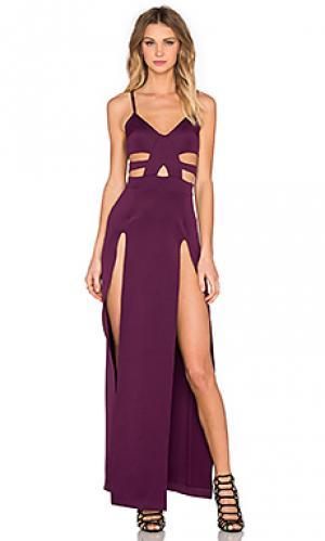 Платье shera Nightwalker. Цвет: фиолетовый