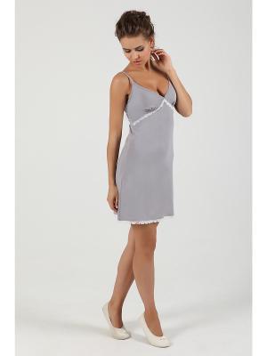 Ночная сорочка NicClub Elegantecasa1405/Серый