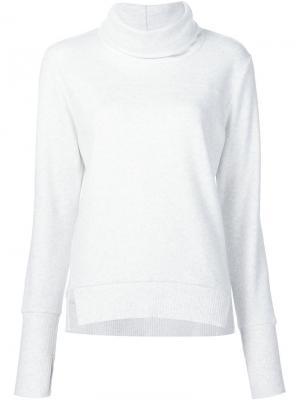 Roll neck sweatshirt Alo. Цвет: белый