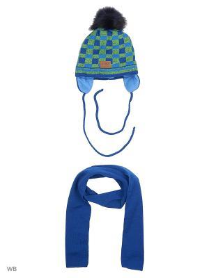 Комплект Agbo. Цвет: синий, салатовый