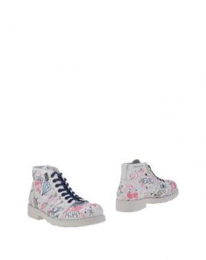 Полусапоги и высокие ботинки O.X.S.. Цвет: светло-серый