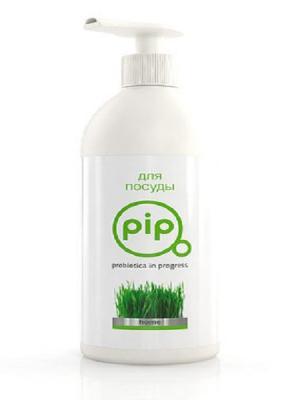 Пробиотическое моющее средство PiP для посуды, 250 мл. Цвет: белый