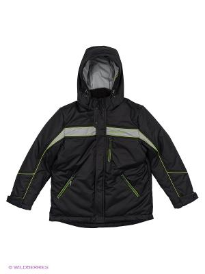 Куртка КАЛIНКА. Цвет: черный