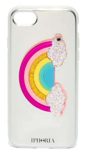 Чехол для iPhone 7 с изображением радуги Iphoria
