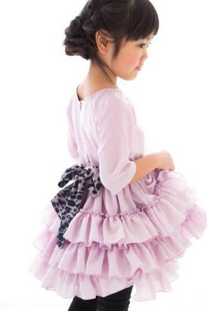 Платье HOW TO KISS A FROG. Цвет: фиолетовый