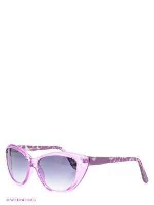 Солнцезащитные очки Franco Sordelli. Цвет: сиреневый