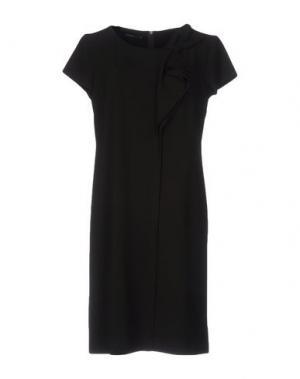 Короткое платье SUPERIOR. Цвет: темно-коричневый