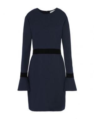 Короткое платье 8. Цвет: темно-синий