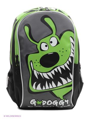 Рюкзак Grizzly. Цвет: черный, зеленый