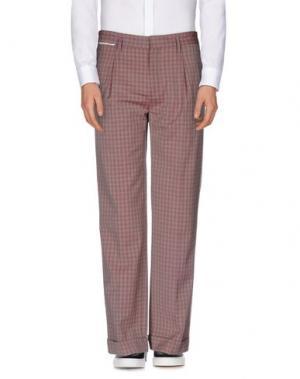 Повседневные брюки MARC JACOBS. Цвет: телесный
