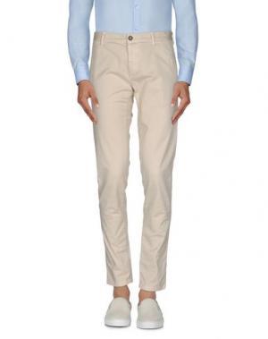 Повседневные брюки BASICON. Цвет: песочный