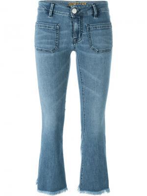 Укороченные джинсы Ella  Dont Cry Don't. Цвет: синий