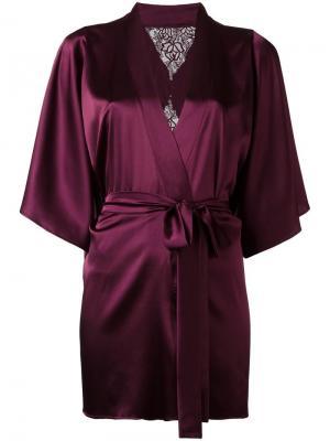 Silk robe Fleur Of England. Цвет: розовый и фиолетовый