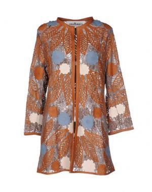 Легкое пальто CABAN ROMANTIC. Цвет: голубиный серый