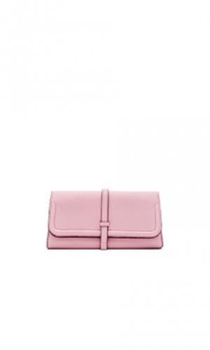 Клатч charlotte Annabel Ingall. Цвет: розовый