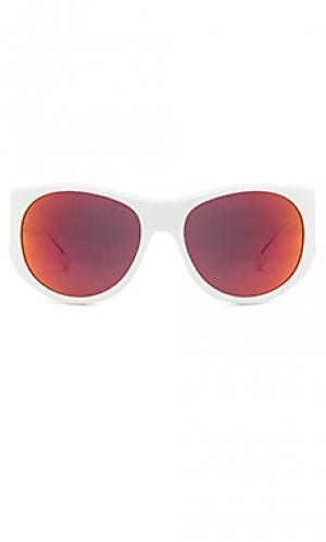 Солнцезащитные очки westcott Steven Alan. Цвет: белый