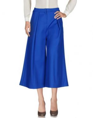 Повседневные брюки ROKSANDA. Цвет: ярко-синий