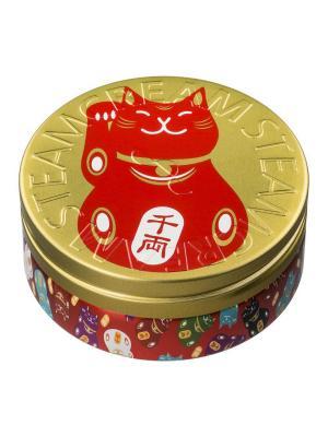 Крем STEAMCREAM Maneki Neko, 75 мл. Цвет: красный, золотистый