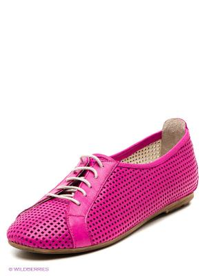 Ботинки VelVet. Цвет: фуксия