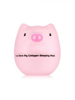Ночная маска для лица (коллаген) PIG COLLAGEN , 80г Tony Moly. Цвет: белый