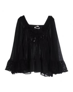Блузка ANJUNA. Цвет: черный