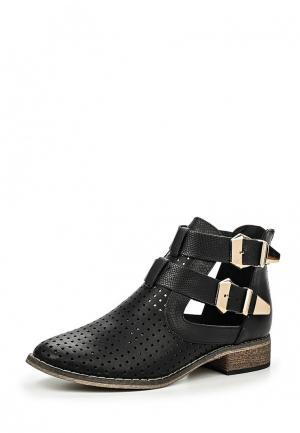 Ботинки Tulipano. Цвет: черный
