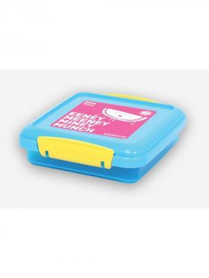 Контейнер для сэндвичей 450мл Sistema. Цвет: голубой
