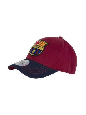 Бейсболка FC Barcelona Atributika & Club. Цвет: темно-синий, бордовый