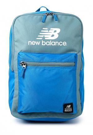 Рюкзак New Balance. Цвет: голубой