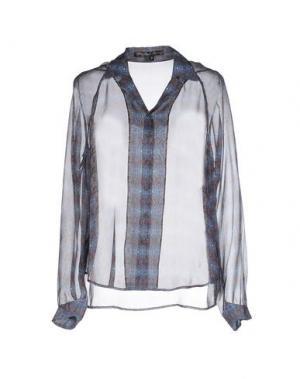 Pубашка THEYSKENS' THEORY. Цвет: грифельно-синий