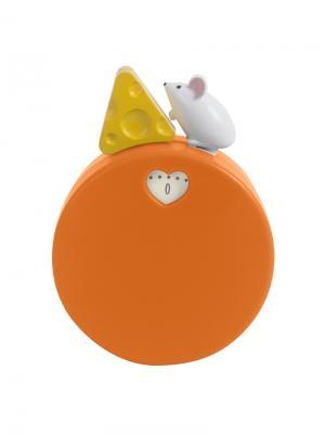 Таймер механический My Cheese Balvi. Цвет: оранжевый