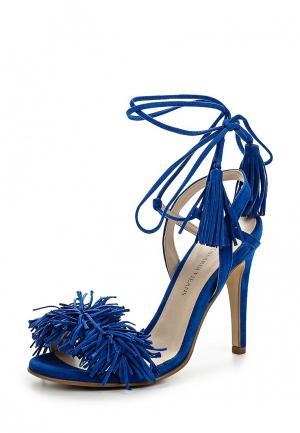 Босоножки Trussardi Jeans. Цвет: синий