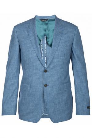 Пиджак Paul Smith. Цвет: голубой