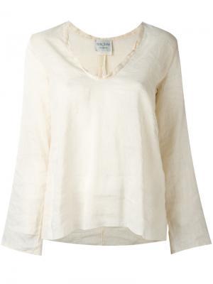 Рубашка My Forte. Цвет: телесный