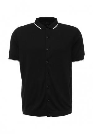 Поло Burton Menswear London. Цвет: черный