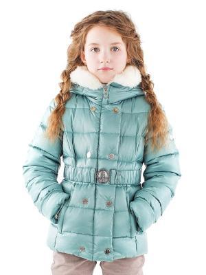 Куртка Pulka. Цвет: лазурный