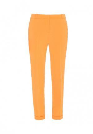 Брюки Bergamoda. Цвет: оранжевый