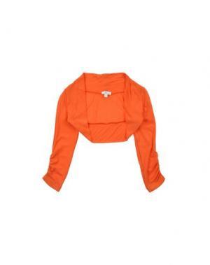 Болеро MICROBE. Цвет: оранжевый
