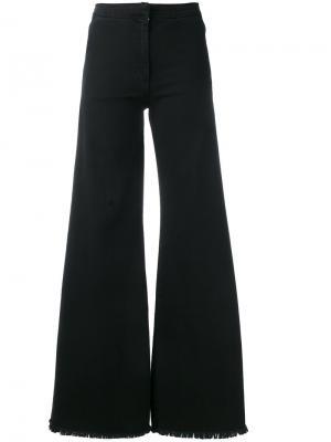 Расклешенные джинсы Federica Tosi. Цвет: чёрный