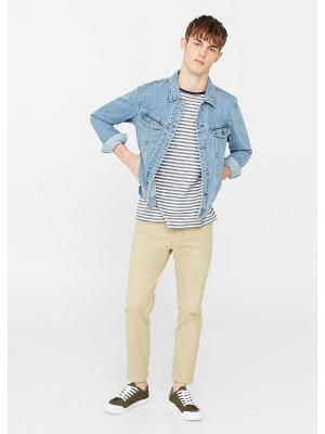 Куртка - RYAN8 MANGO MAN. Цвет: синий