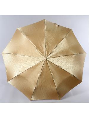 Зонт Zest. Цвет: светло-коричневый,золотистый