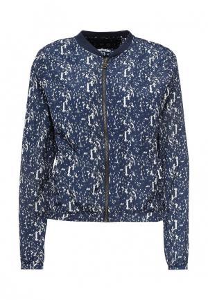 Куртка Emoi. Цвет: синий