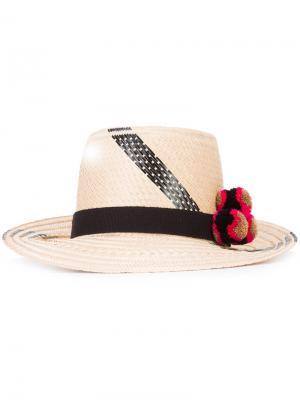 Шляпа Tanami Yosuzi. Цвет: телесный
