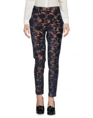 Повседневные брюки PAOLO CASALINI. Цвет: темно-синий