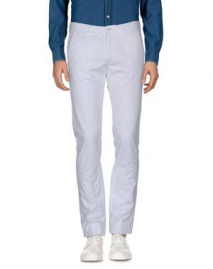Повседневные брюки GAZZARRINI. Цвет: белый